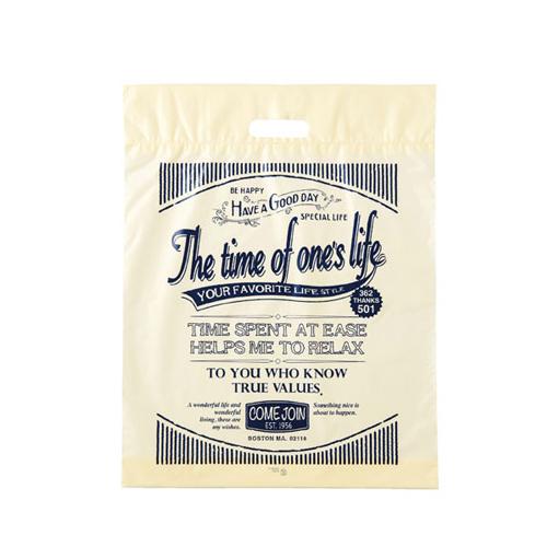 【まとめ買い10個セット品】 アメリカンヴィンテージ ポリバッグ 25.5×36.5×底マチ6 2000枚【店舗備品 包装紙 ラッピング 袋 ディスプレー店舗】