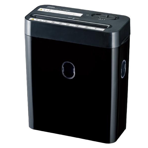 【まとめ買い10個セット品】 静音マルチシュレッダー SHR-MX300 ブラック