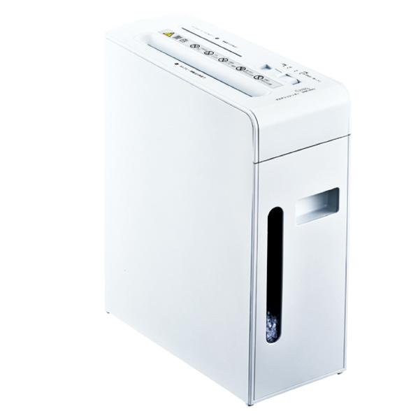 【まとめ買い10個セット品】 静音マルチシュレッダー SHR-MX501C ホワイト