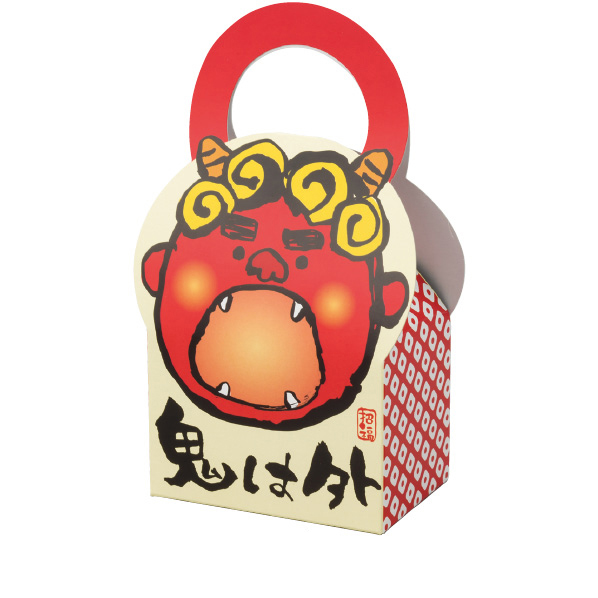 【まとめ買い10個セット品】 福豆ボックス50個 【節分 飾り イベント 装飾】