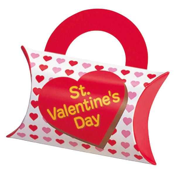 【まとめ買い10個セット品】 バレンタインハートチョコ バッグ100個 【バレンタインデー グッズ 飾り イベント 装飾】
