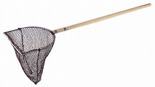 木柄 玉網長三角型[活魚用]40cm メイチョー