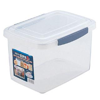 【まとめ買い10個セット品】【 保存容器 】 ラストロ[Lustro ware] ロック式ジャンボケース 浅型 B-896 L メイチョー