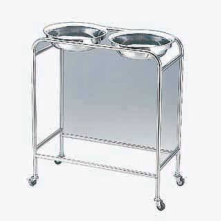 『 洗面器 』 洗面器台 SA抗菌ダブルハンドウォッシャースタンド WKFK-88