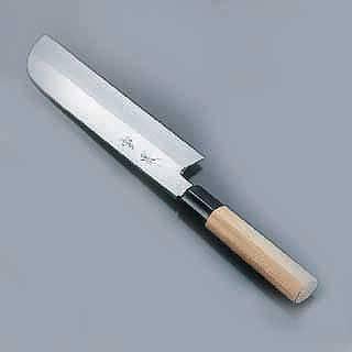 【 鎌型薄刃包丁 】 SA雪藤 24cm[片刃] メイチョー