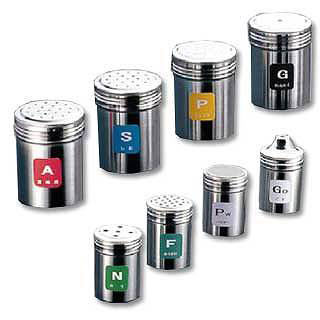 【まとめ買い10個セット品】『 調味料入れ 容器 調味缶 ステンレス 』TKG18-8ステンレス 調味缶 大 Pw[パウダー]