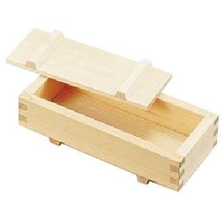 【まとめ買い10個セット品】『 寿司押し型 』木製 押し寿司[白木] 中