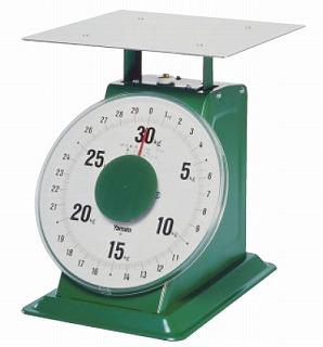 『 業務用秤 アナログ 』ヤマト 上皿自動はかり「特大型」 平皿付 SD-30 30kg