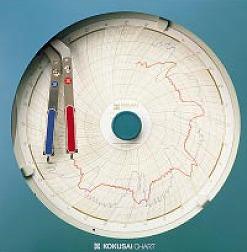 『 温度計 室内用温度計 』温湿度記録計 温湿きろく君 KC10-WD 1日用