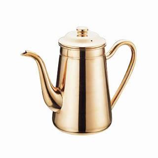 『 コーヒーポット 』銅 無地コーヒーポット 1500cc #13