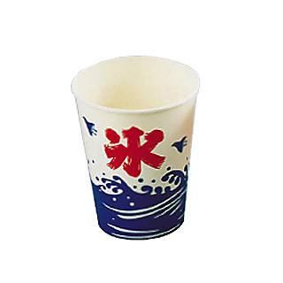 【 かき氷機 電動 ふわふわ 】 紙カップ SCV-275 ニュー氷 [2500入] 【 業務用 】 メイチョー