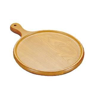【まとめ買い10個セット品】【 ピザ 皿 木製 】木製ピザトレー 中 P-9 φ230mm 【 業務用 】 メイチョー