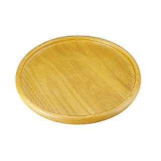 【まとめ買い10個セット品】木製ピザボード(セン材) KS-370【 ピザトレー 木製ピザ皿 ピザボード 】 【メイチョー】