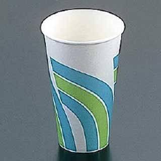 紙カップ[コールド用]SCM-400 レインボー[1400入] 【 業務用 】 【 送料無料 】【 ストロー カップ 紙コップ関連品 】 【20P05Dec15】 メイチョー