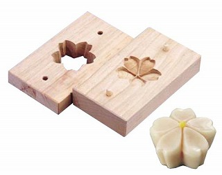 『物相型 和菓子 お菓子作り』手彫物相型[上生菓子用] 桜花【開業プロ】