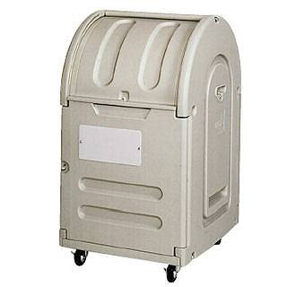 『 ゴミ箱 ゴミステーションボックス 』エコランドステーションボックス #300C キャスター付【 メーカー直送/後払い決済不可 】