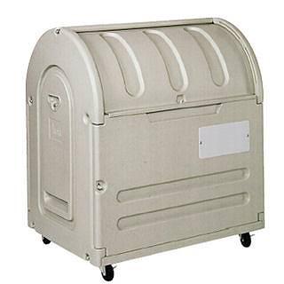 『 ゴミ箱 ゴミステーションボックス 』エコランドステーションボックス #500C キャスター付【 メーカー直送/後払い決済不可 】