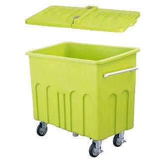 『 ゴミ箱 ゴミステーションボックス 』エコカート H600 蓋付【 メーカー直送/代金引換決済不可 】