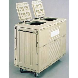 『 ゴミ箱 ゴミステーションボックス 』ポイスター POP-700X キャスター付【 メーカー直送/後払い決済不可 】