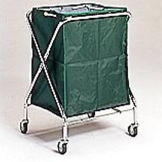 BM ダストカー 大 緑 【 業務用 】 【 送料無料 】【 清掃用ワゴン ダストカー ダストボックス ゴミ箱 】 【20P05Dec15】 メイチョー