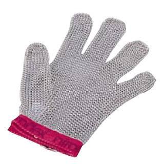 ニロフレックス メッシュ手袋5本指 S S5[白] 【 業務用 】 【 送料無料 】【 特殊手袋 】 【20P05Dec15】 メイチョー