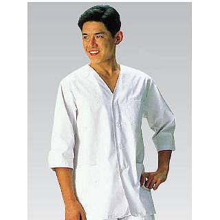 【まとめ買い10個セット品】男性用調理衣 七分袖 FA-323 3L メイチョー
