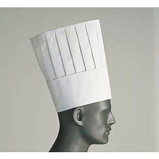 ロンドン シェフトック シェフハット A85110[50枚入] 【 業務用 】 【 コック帽子 】 【20P05Dec15】 メイチョー