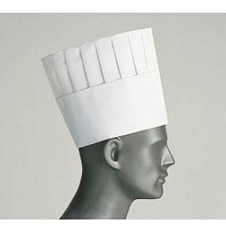 ロンドン プリーツトック シェフハット A82110[50枚入] 【 業務用 】 【 コック帽子 】 【20P05Dec15】 メイチョー