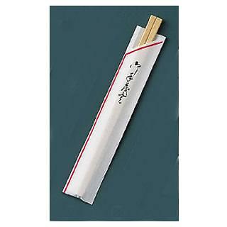 『お弁当 割りばし』割箸 業務用 袋入 赤線 白樺元禄 20.5cm [1ケース100膳×40入]【開業プロ】