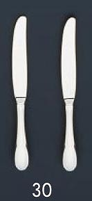 【まとめ買い10個セット品】SA18-12マーベラス銀仕様 テーブルナイフ(刃無)
