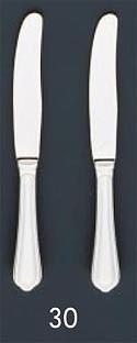 【まとめ買い10個セット品】SA18-8ピガール銀仕様 テーブルナイフ(刃付)【 人気 カトラリー 業務用 カトラリー おすすめ 業務用カトラリー 販売 】 【メイチョー】