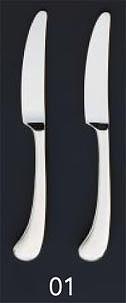 【まとめ買い10個セット品】SA18-8ピカソ銀仕様 デザートナイフ[刃付][カトラリー]【 人気カトラリー業務用カトラリーおすすめカトラリー販売通販 】 メイチョー