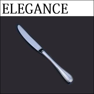 【まとめ買い10個セット品】『 デザートナイフ 』18-8ステンレス エレガンス デザートナイフ[刃付][カトラリー]
