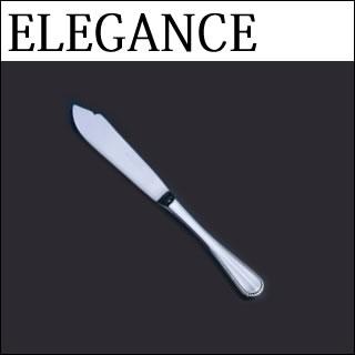 【まとめ買い10個セット品】『 フィッシュナイフ 』18-8ステンレス エレガンス フィッシュナイフ[カトラリー]