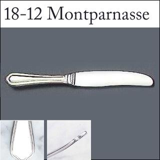 【まとめ買い10個セット品】『 デザートナイフ 』18-12モンパルナス デザートナイフ[刃無][カトラリー]