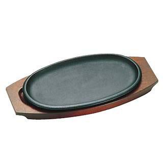 【まとめ買い10個セット品】『 ステーキ皿 』トキワステーキ皿 316 小判浅型 小 25cm IH対応