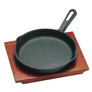 【まとめ買い10個セット品】『 ステーキ皿 』トキワステーキ皿 315 柄付 大 20cm IH対応