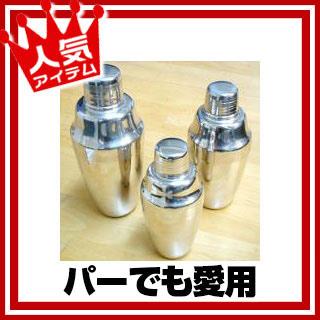 【まとめ買い10個セット品】『 シェーカー 』18-8カクテルシェーカーC(豆) メイチョー
