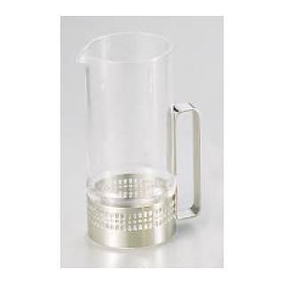 【まとめ買い10個セット品】ガラス製ウォーターピッチャー 3028W【 水差しピッチャー 】 メイチョー