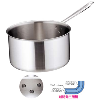 『 片手鍋 』トリノ シチューパン 30cm