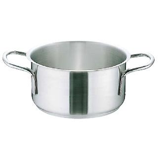 『 両手鍋 IH IH対応 』ムラノ インダクション 18-8ステンレス 外輪鍋 [蓋無]45cm