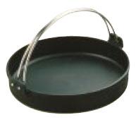 IH対応 トキワ 鉄すき焼き鍋 黒ツル付 28cm[卓上鍋関連品]    メイチョー