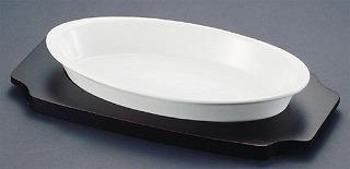 シェーンバルド オーバルグラタン皿 白 [ツバ付]1011-42W 【 業務用 】 【 Schonwald オーブンウエア 】 【20P05Dec15】 メイチョー