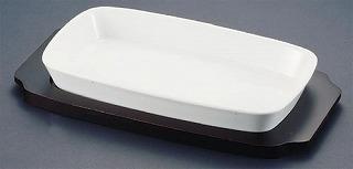 シェーンバルド 角グラタン皿 白 1011-39W 【 業務用 】 【 Schonwald オーブンウエア 】 【20P05Dec15】 メイチョー