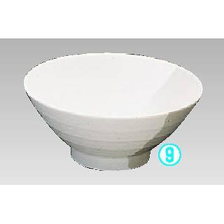 メラミン「グレイ・ストーン」うどん鉢 IL-755  メイチョー