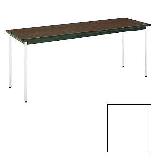 テーブル(棚無) MT2701  (C)ホワイト メイチョー