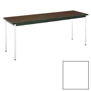 テーブル(棚無) MT2702  (C)ホワイト メイチョー