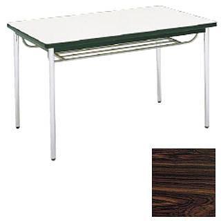 テーブル(棚付) MT2714  (B)ローズ メイチョー
