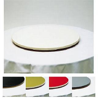 ターンテーブル1 TT-750 [アイボリー] 【 メーカー直送/代金引換決済不可 】 【 業務用 】 【 送料無料 】【 家具 食堂用テーブル 中華テーブル 】 【20P05Dec15】 メイチョー