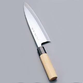 『 和包丁 出刃包丁 』堺實光 紋鍛 出刃庖丁[片刃] 24cm